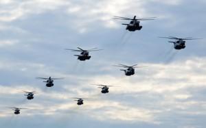 Hubschrauberpilot bei der Bundeswehr