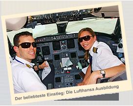 Der beliebteste Einstieg: Die Lufthansa-Ausbildung